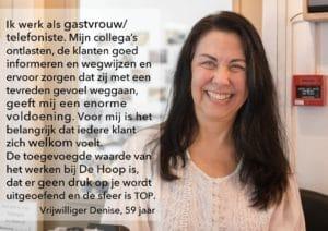 Quote Vrijwilliger Denise