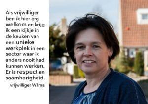 Quote Vrijwilliger Wilma