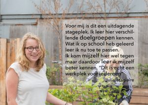 Quote stagiair Julia
