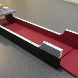 Speelgoed houten roll-on-roll-off schip (100 x 20 cm)