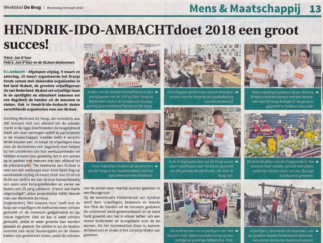 NL Doet Ambachtse Bedrijven De Brug 201803