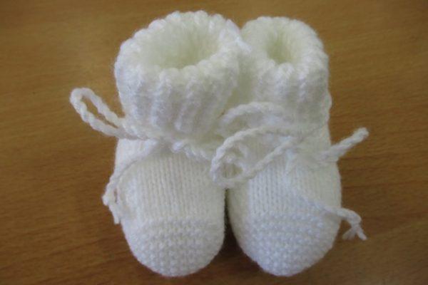 Babysokjes wit 1