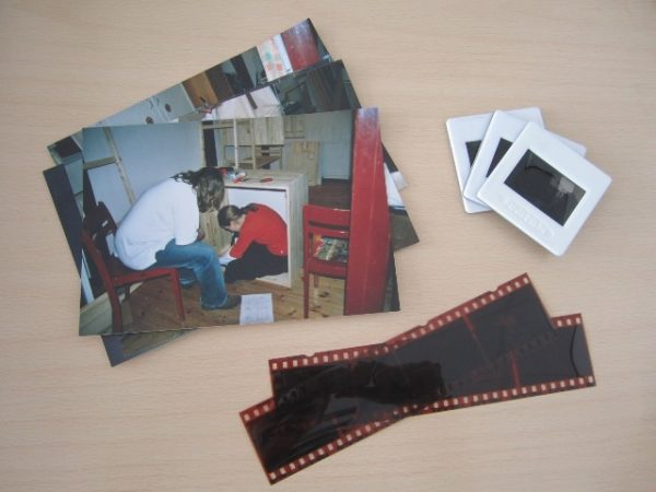 digitaliseren dia's foto's negatetieven film