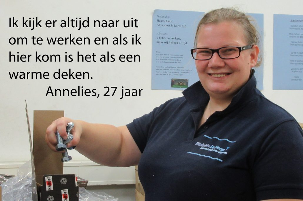 Annelies DH Inpak quote