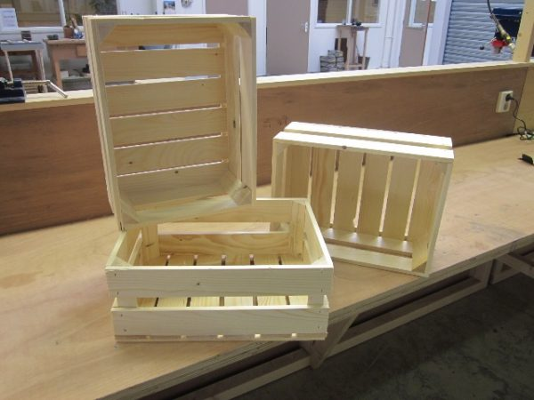 Ambachtse Bedrijven houten seriewerk 1