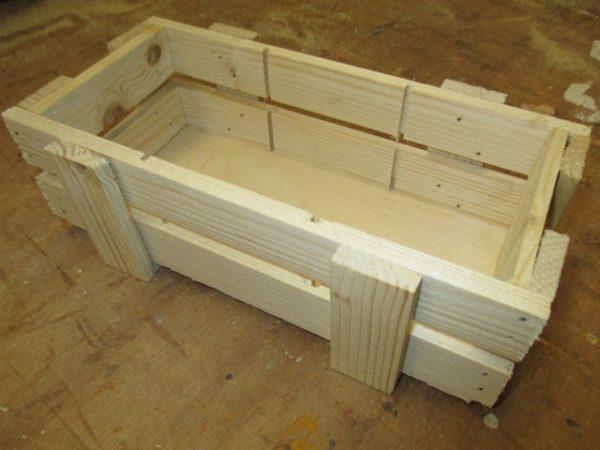 Ambachtse Bedrijven houten seriewerk 18