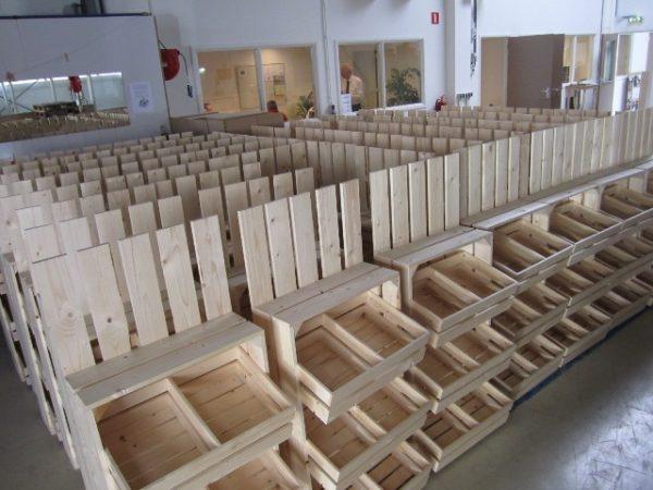 Ambachtse Bedrijven houten seriewerk 2