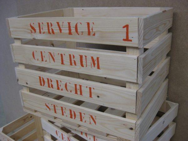 Ambachtse Bedrijven houten seriewerk 23 1