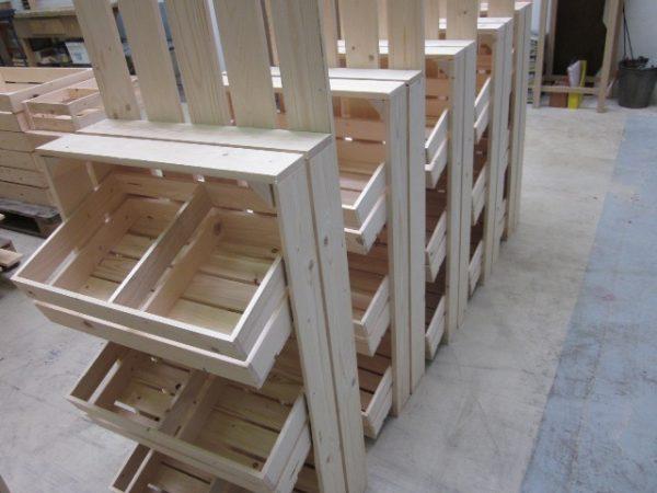 Ambachtse Bedrijven houten seriewerk 8