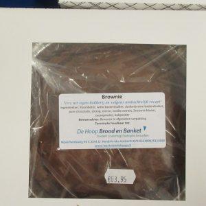 Brownie taartje- Bakkerij De Hoop Brood en Banket 1