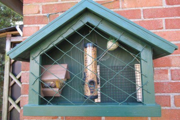 Vogelvoeder beschermkooi 4