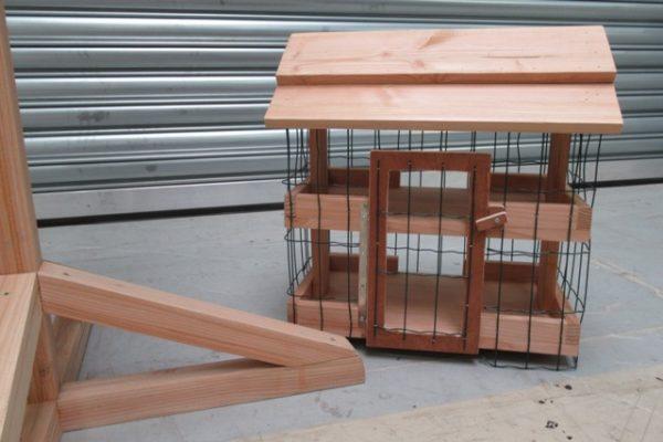 Vogelvoederbeschermkooi 1